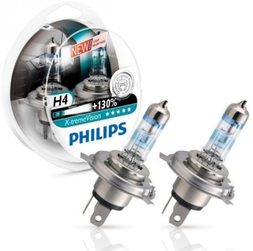 H4 Philips X-treme Vision 130%