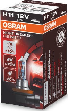 Osram Nightbreaker Unlimited H11 (64211NBU)
