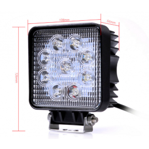 Hoge kwaliteit LED verstraler 27 watt