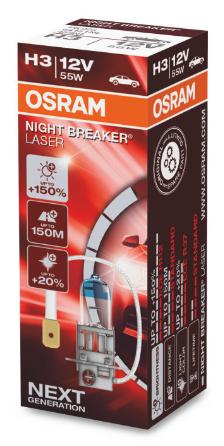 Osram Nightbreaker Laser Next H3 (64151NL)