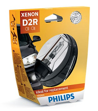 Philips Vision D2R Xenon Lamp (85126VIC1)