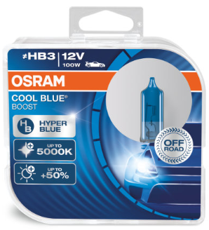 Osram Cool Blue Boost HB3 Halogeen Lamp (69005CBB)