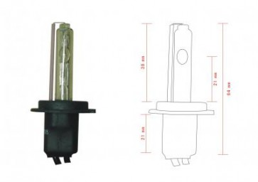 H7C Xenon Lamp (korte H7 lamp)