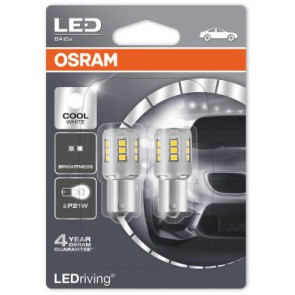 Osram LED Cool 6000k  BA15s / P21W (7456CW-02B)