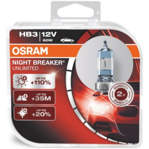 Osram Nightbreaker Unlimited HB3 (9005NBU-HCB)