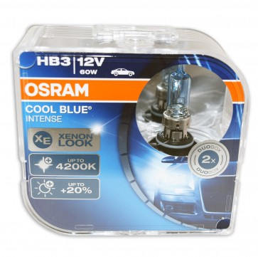 Osram Cool Blue Intense HB3 halogeen lamp (9005CBI-HCB)