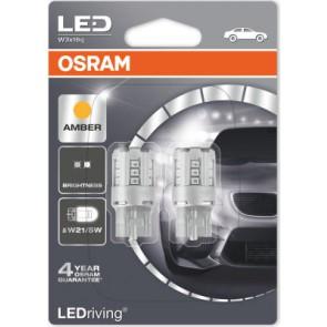 Osram T20 LED Oranje W21/5W (7715YE-02B)