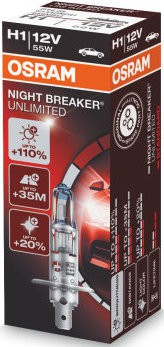 Osram Nightbreaker Unlimited H1 (64150 NBU)