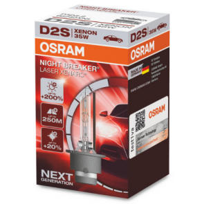 Osram Xenarc Night Breaker Laser D2S Xenon Lamp (66240XNL)