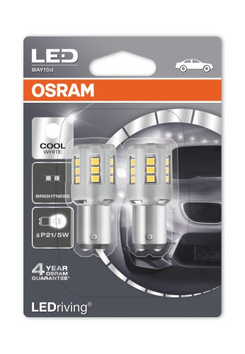 Osram LED Retrofit Cool White BAY15D (1457CW-02B)