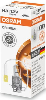 Osram 24V H3 halogeen lamp (64156)