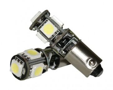 BAX9S 5-SMD CAN-BUS Bajonet LED