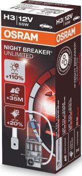 Osram Nightbreaker Unlimited H3 (64151 NBU)