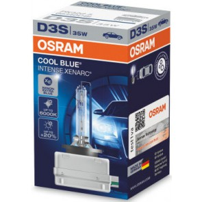 Osram (66340CBI) D3S Xenarc Cool Blue Intense