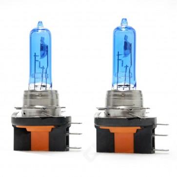 H15 Halogeen xenonlook Lampen Set